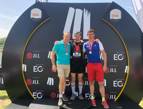 Well done to team Forcia for completing the JLL Triathlon