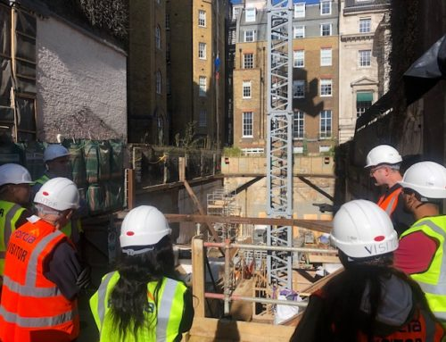 The CIOB London Hub  visit Mayfair Site